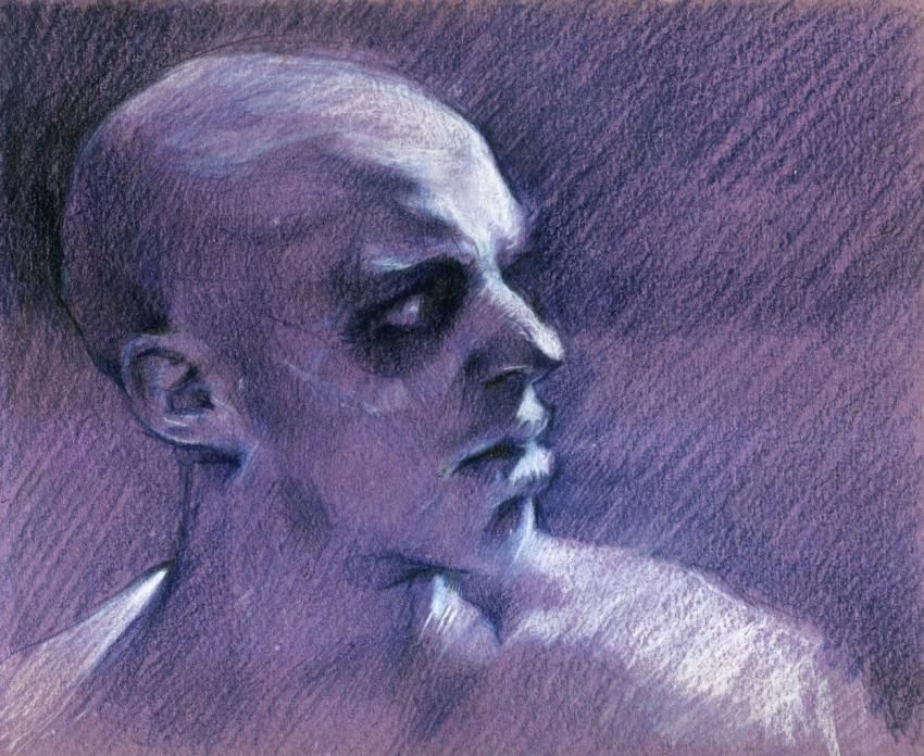 Nicholas Hoult by Vasiliy